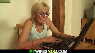 Very old skinny mother-in-law