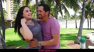 Karups - Mature Babe Sheena Ryder Pounded Outdoors