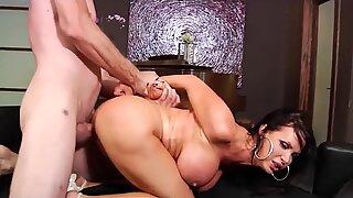 Nikki Benz getting hard anal sex