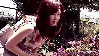 Bigtitted japonesas Milf sendo devastados interracialmente
