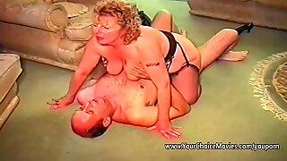 Older couples homemade sex film