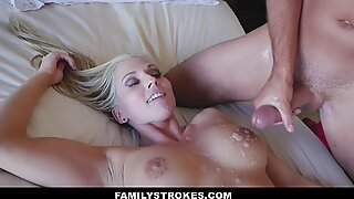 FamilyStrokes - Seduced BY My super-hot Gold-Digging Step-Mom