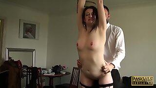 English mature whore anally disciplined before tasting cum