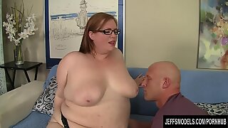 Sexy BBW Julie Ann More gets fucked like a dog