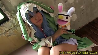 Yoshino fantasia asiática a chupar a pixa