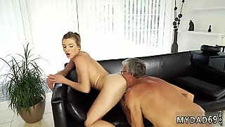 Old man girl first time Victoria and her bf were at his father s villa since she liked to