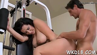 Snatch is licked and fucked