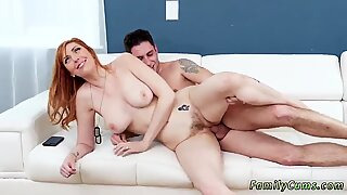 Real teen moviek up and hardcore beach fuck first time Star Spangled Stepmom - Brad Knight