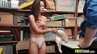 Small and petite asian chick gets punish fucked hard