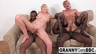 Hot Interracial Compilation from Granny Gets Bbc!