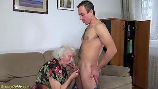Gorduchas 91 anos de idade Mãe Fodido