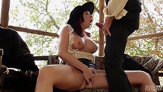 Chanel Preston wild west pussy service