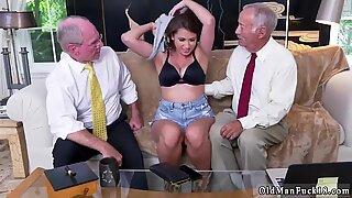 E britânia velha hera jovem impressiona com seus carnudos Soutien-Stuffers e Cú - Ivy Young