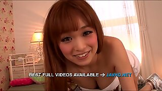 Mikuru Shiina provides Asian blowjob before a fuck